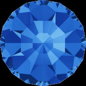 Round Chaton CB - Crystal Stones - Pietra Conica Tonda Sapphire