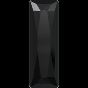 Fancy stone - Crystal Stones - Pietra di Forma Baguette Principessa Jet Black - 103