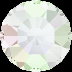 Round Chaton CB - Crystal Stones - Pietra Conica Tonda Opal White - 103