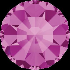 Round Chaton CB - Crystal Stones - Pietra Conica Tonda Fucsia - 106