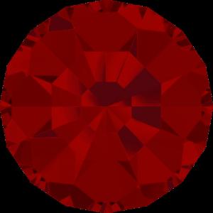 Round Chaton CB - Crystal Stones - Pietra Conica Tonda Light Siam - 108