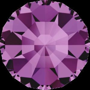 Round Chaton CB - Crystal Stones - Pietra Conica Tonda Amethyst - 111