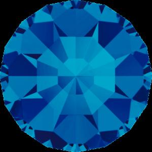 Round Chaton CB - Crystal Stones - Pietra Conica Tonda Capri Blue - 115