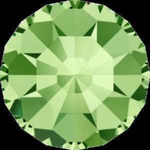 Round Chaton CB - Crystal Stones - Pietra Conica Tonda Peridot - 120