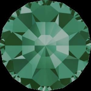 Round Chaton CB - Crystal Stones - Pietra Conica Tonda Emerald - 121