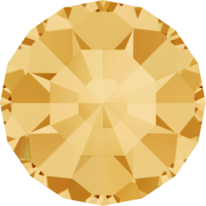 Round Chaton CB - Crystal Stones - Pietra Conica Tonda Jonquil - 123