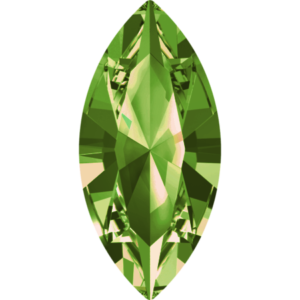 Fancy stone - Crystal Stones - Pietra di Forma Navetta Olivine - 124