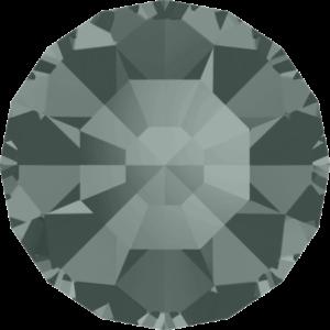 Round Chaton CB - Crystal Stones - Pietra Conica Tonda Black Diamond - 130