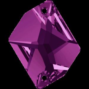 Sew-on stone - Crystal Stones - Pietra da Ricamo Cosmica Amethyst - 18