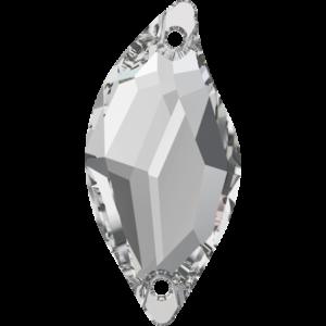 Sew-on stone - Crystal Stones - Pietra da Ricamo Foglia Crystal - 01