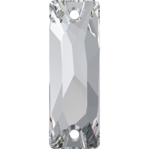 Sew-on stone - Crystal Stones - Pietra da Ricamo Baguette Crystal - 01
