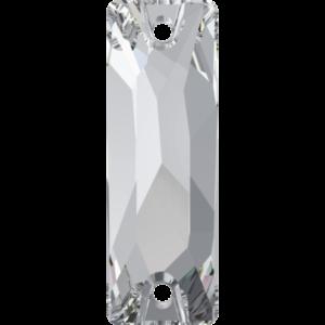 Sew-on stone - Crystal Stones - Pietra da Ricamo Baguette Crystal - 01