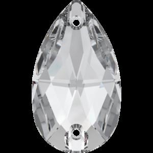 Sew-on stone - Crystal Stones - Pietra da Ricamo Pera Crystal - 01