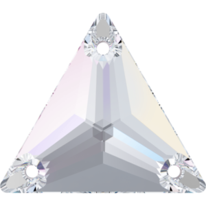 Sew-on stone - Crystal Stones - Pietra da Ricamo Triangolare Crystal AB - 36