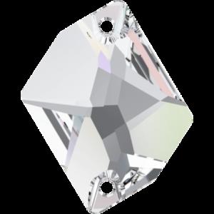 Sew-on stone - Crystal Stones - Pietra da Ricamo Cosmica Crystal AB - 36
