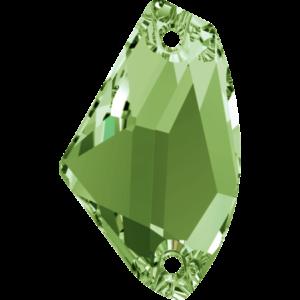 Sew-on stone - Crystal Stones - Pietra da Ricamo Galattica Peridot - 24