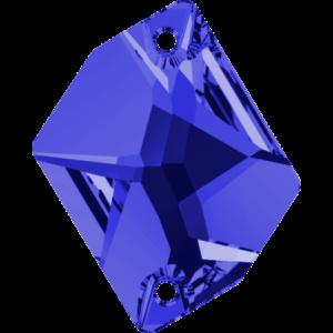 Sew-on stone - Crystal Stones - Pietra da Ricamo Cosmica Sapphire - 10