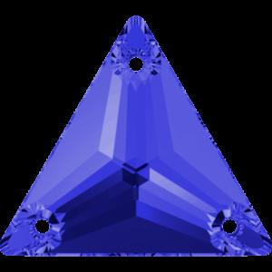 Sew-on stone - Crystal Stones - Pietra da Ricamo Triangolare Sapphire - 10