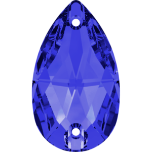 Sew-on stone - Crystal Stones - Pietra da Ricamo Pera Light Sapphire - 10