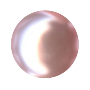 Pearl - Crystal Stones - Perla Cristallo 813 Rose