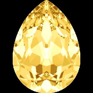 Fancy stone - Crystal Stones - Pietra di Forma Goccia Honey - 157