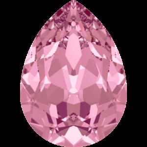 Fancy stone - Crystal Stones - Pietra di Forma Goccia Rose Satin - 160
