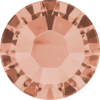 Flatback Pietra Termoadesiva Hotfix Light Peach 106 - Xilion 2038 - Crystal Stones