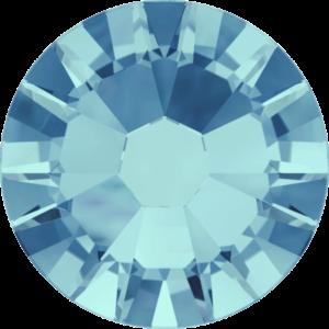 Flatback Pietra Termoadesiva Hotfix Aquamarine 107 - Xilion 2058 - Crystal Stones