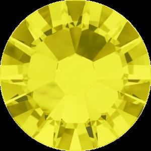 Flatback Pietra Termoadesiva Hotfix Citrine 121 - Xilion 2058 - Crystal Stones