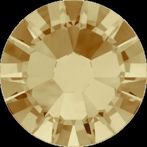 Flatback Pietra Termoadesiva Hotfix Light Colorado Topaz 123 - Xilion 2058 - Crystal Stones