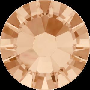 Flatback Pietra Termoadesiva Hotfix Light Peach 125 - Xilion 2058 - Crystal Stones