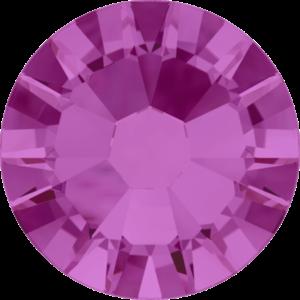 Flatback Pietra Termoadesiva Hotfix Fucsia 128 - Xilion 2058 - Crystal Stones