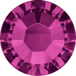 Flatback Pietra Termoadesiva Hotfix Fuchsia 134 - Xilion 2038 - Crystal Stones