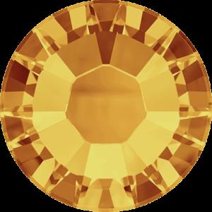 Flatback Pietra Termoadesiva Hotfix Topaz 142 - Xilion 2038 - Crystal Stones