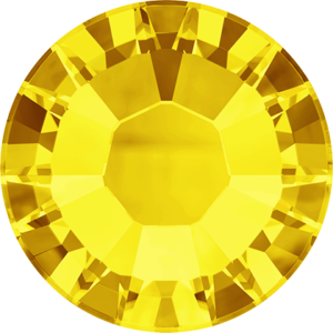 Flatback Pietra Termoadesiva Hotfix Citrine 147 - Xilion 2058 - Crystal Stones