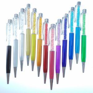 Set Penne a Sfera con cristalli tipo Swarovski - Crystal Stones