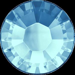 Flatback Pietra Termoadesiva Hotfix Aquamarine 107 - Xilion 2038 - Crystal Stones