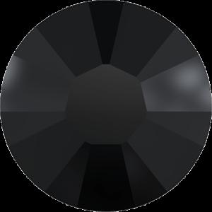 Flatback Pietra Termoadesiva Hotfix Jet Black - Xilion 2038 - Crystal Stones