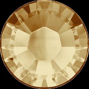 Flatback Pietra Termoadesiva Hotfix Light Colorado Topaz 117 - Xilion 2038 - Crystal Stones