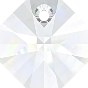 Bead stone - Crystal Stones - Pietra Perlina Pendente DF-6401 Crystal - 8001