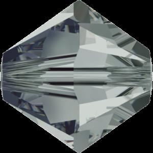 Bead stone - Crystal Stones - Pietra Perlina Bead DF-5328 Bicono Black Diamond - 8006