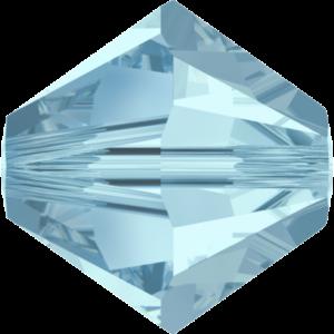 Bead stone - Crystal Stones - Pietra Perlina Bead DF-5328 Bicono Aquamarine - 8008