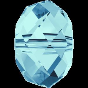 Bead stone - Crystal Stones - Pietra Perlina Bead DF-5040 Aquamarine - 8008