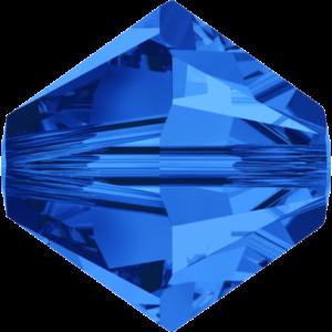 Bead stone - Crystal Stones - Pietra Perlina Bead DF-5328 Bicono Sapphire - 8010