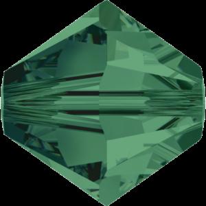 Bead stone - Crystal Stones - Pietra Perlina Bead DF-5328 Bicono Emerald - 8014