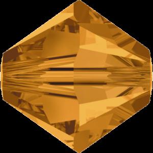 Bead stone - Crystal Stones - Pietra Perlina Bead DF-5328 Bicono Topaz - 8022
