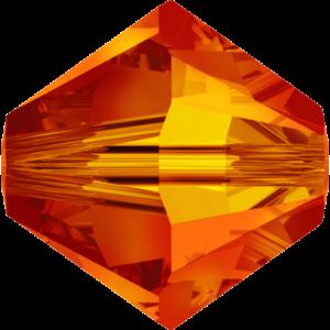 Bead stone - Crystal Stones - Pietra Perlina Bead DF-5328 Bicono Sunflower - 8030