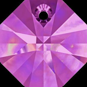 Bead stone - Crystal Stones - Pietra Perlina Pendente DF-6401 Amethyst - 8034