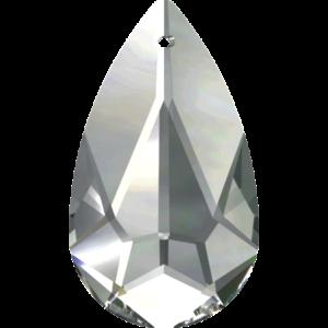 Bead stone - Crystal Stones - Pietra Perlina Pendente DF-6100 Half Labrador - 8043