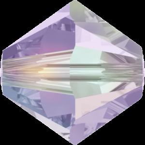 Bead stone - Crystal Stones - Pietra Perlina Bead DF-5328 Bicono Violet AB - 8044